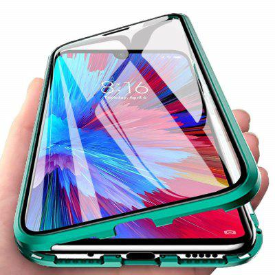 Double Sided Glass Metal Magnetic Phone Case for Xiaomi Mi A3 Lite/CC9