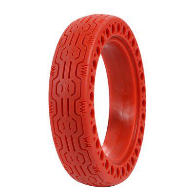 Rubber Solid Front Rear Tire with Hollow Design for Xiaomi M365 / M365 Pro