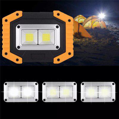 30W LED COB Outdoor Vodotěsné Work Light Camping Nouzové Lucerna Floodlight