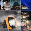 30W LED COB Outdoor Waterproof Work Light Camping Emergency Lantern Floodlight - YELLOW