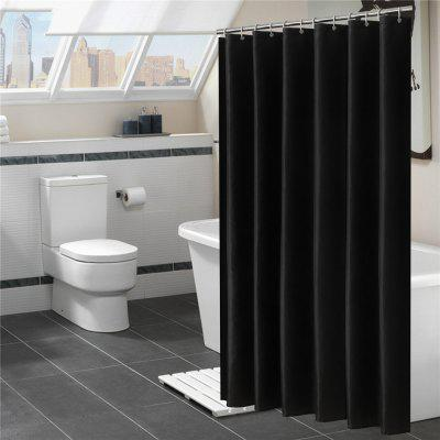Mildew-Proof and Waterproof  Plain Pattern Bath Curtain Bathroom Partition