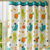 Mildew-Proof and Waterproof Cartoon Fish Pattern Bath Curtain Bathroom Partition - WHITE