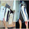 Document Organizer Closet Organizer and Shirt Folder 12 Pcs - TRANSPARENT
