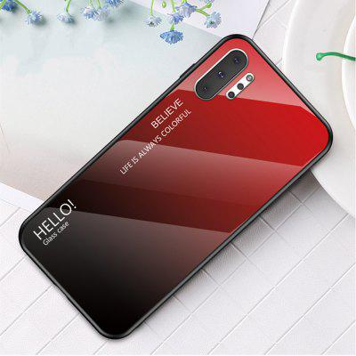 Gradient Tempered Glass Phone Case for Samsung Galaxy Note 10 Pro