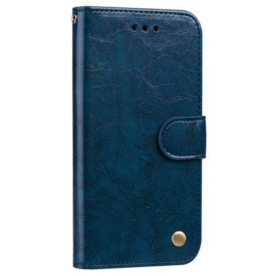 Flip-Top Phone Case For Samsung Galaxy S8/S9/S10 Anti-Fall Leather Case