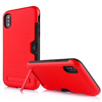 Ultra-Thin Two-In-One Brushed King Mobile Phone Case For iPhone XS Max/XR/X