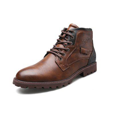 Men's Leather Outdoor Casual Martin Boots
