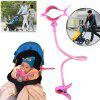 Baby Bottle Holder Rack Feeding Holder Drink Water Nursing Support Clip - BLOSSOM PINK