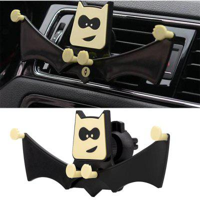 New Car-Mounted Clasp The Bat Shape Bracket