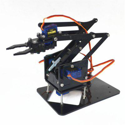 DIY Robot 4 DOF Robot Mechanical Arm for Arduino Learning Kits