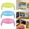 Bowls Rack Multi Functional Magnetron Oven Verwarming Stomen Double Layer Tray - THEE GROEN