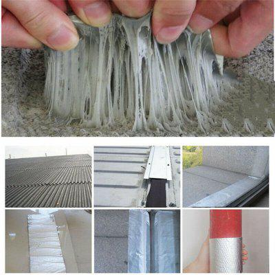 5M Aluminum Foil Butyl Rubber Tape Self Adhesive Roof Pipe Marine Repair