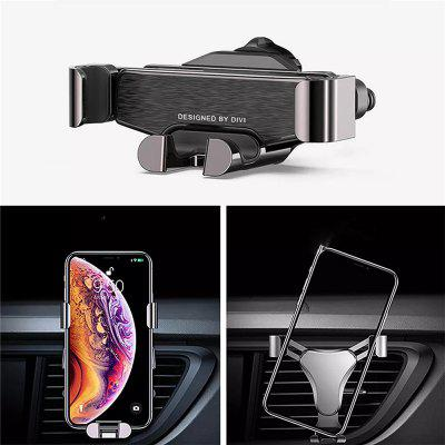 Metal Gravity Air Vent Car Phone Holder