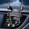 Gravity Air Vent Car Phone Holder - ZWART