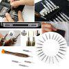 Portable 25 in 1 Combination Suit Mobile Notebook Maintenance  Screwdriver - BLACK