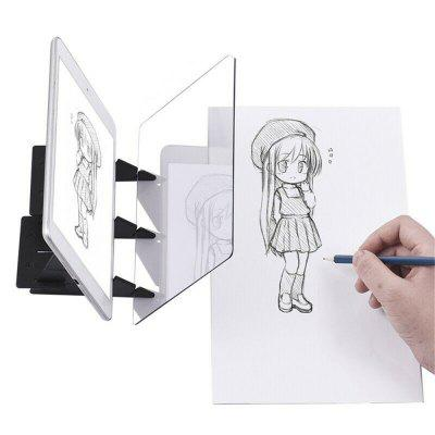 Led Projection Optical Drawing Board Sketch Specular Reflection Dimming