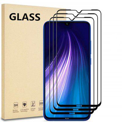 Full Coverage Glass Screen Protector for Xiaomi Redmi Note 8 3PCS