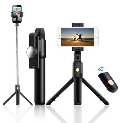 K10 Wireless Bluetooth Tripod selfie Met One Button Controle Photo selfie Stick