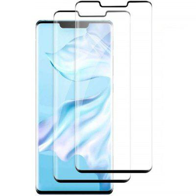 0.3mm 3D Curved Surface Full Screen Tempered Glass for Huawei Mate 30 Pro 2pcs