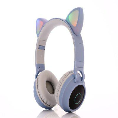 BT028c Cat Ear Bluetooth koptelefoon Opvouwbare Wireless Headset