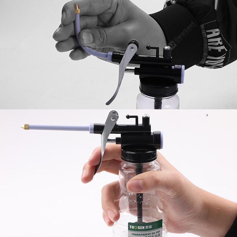 250ML High Pressure Plastic Injection Tube Oil Gun