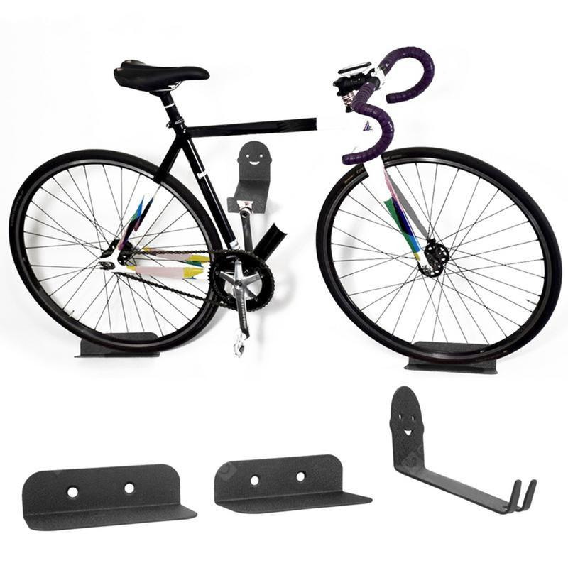 Bicycle Wall Bracket Storage Rack 3PCS
