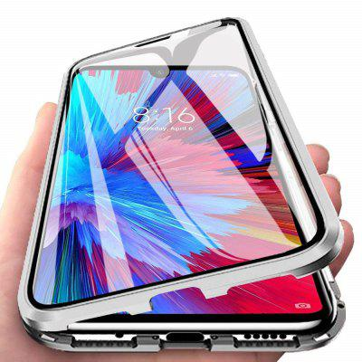 Double Sided Glass Metal Magnetic Phone Case for Xiaomi Mi A3/CC9e