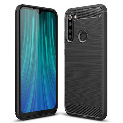 Shockproof Carbon Fiber Phone Case voor Xiaomi redmi Note 8