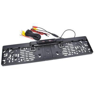 EU License Plate Frame Car Reverse Camera waterproof Back Up Camera for monitor