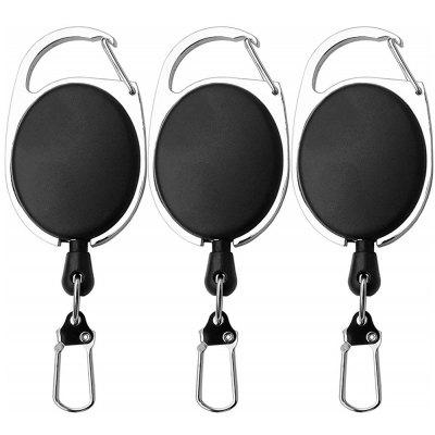 Fishing Retractor Tool Extractor Stopper Keeper Tether Retractable Reel 3PCS
