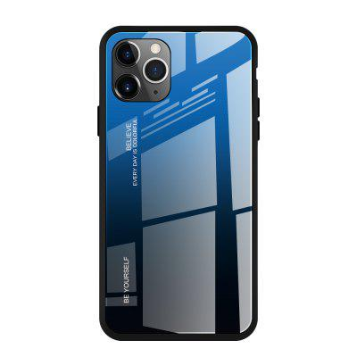 9H Gradient gehard glas Case voor iPhone 11 PRO