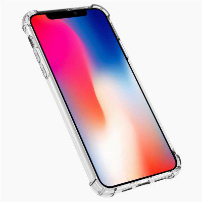 Transparant Soft Cover Airbag Anti-drop Mobile Phone Case voor iPhone 11 Pro