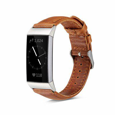 Luxe lederen band voor Fitbit CHARGE3 Wrist Band