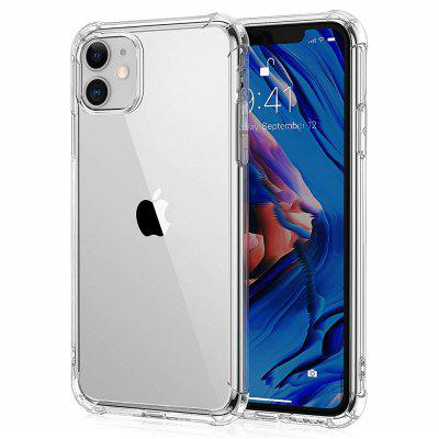 Tampa transparente macio Airbag Anti-drop caixa do telefone móvel para o iPhone 11
