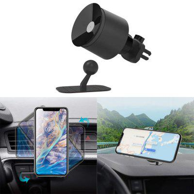 Minismile 2 in 1 Suction Cup 360-degree Rotary Car Mount Air Vent Phone Holder
