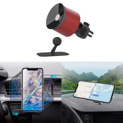 Minismile 2 in 1 tazza di aspirazione di 360 gradi Rotary Car Mount Air Vent Phone Holder