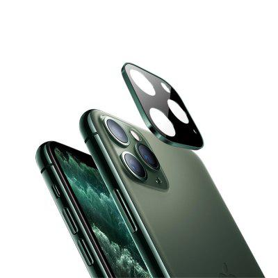 Metal Edge 9H vetro temperato Camera Lens Protector per iPhone Pro 11/11 Pro Max