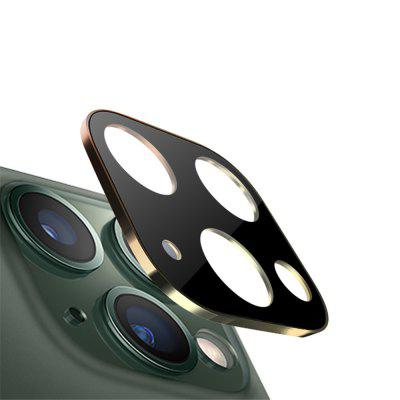Metal Edge 9H Tempered Glass Camera Lens Protector for iPhone 11 Pro /11 Pro Max