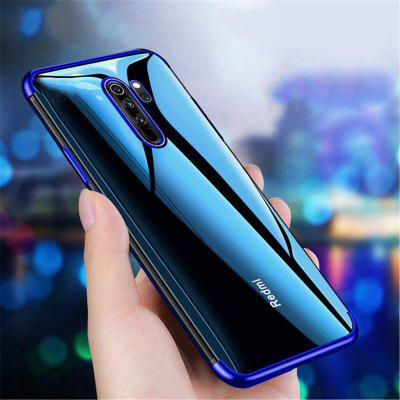Electroplated Ultra Slim TPU Gel Phone Case pour Xiaomi redmi Note 8 Pro