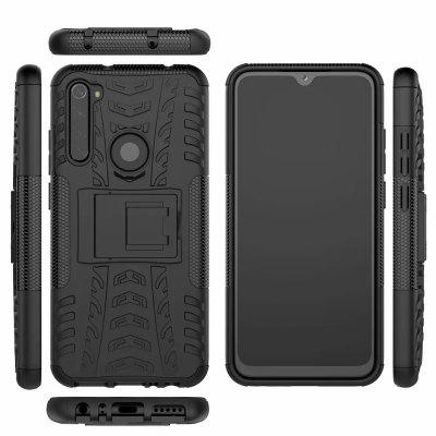 Shockproof Armor Silicone Phone Case for Xiaomi Redmi Note 8