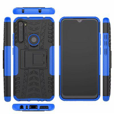 Shockproof Armor Siliconen Phone Case voor Xiaomi redmi Note 8