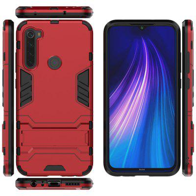 Shockproof Solid Hard with Stand Phone Case for Xiaomi Redmi Note 8