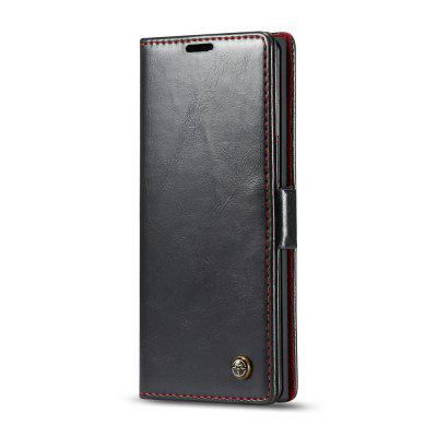 CaseMe Retro Leather Wallet Phone Cover Stand Case for Samsung Galaxy Note 10