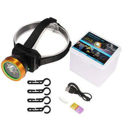 1080P HeadLamp Video Recorder Headlight Outdoor Dv Weather Proof Camera