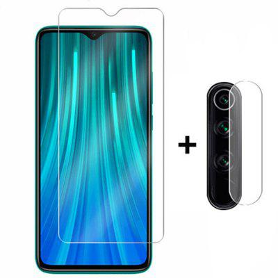 Glass Screen Protector + Lens Protective Film for Xiaomi Redmi Note 8