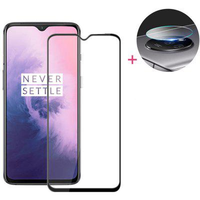 Lens Protective Film + Glass Screen Protector for OnePlus 7T