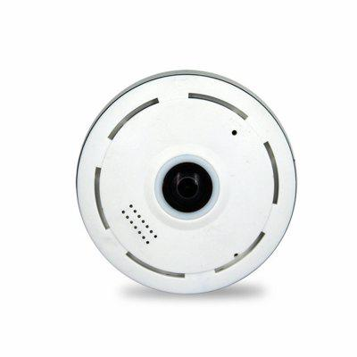 960P Full HD Fisheye Panoramatický Audio Camera Home Security CCTV Podpora TF karet
