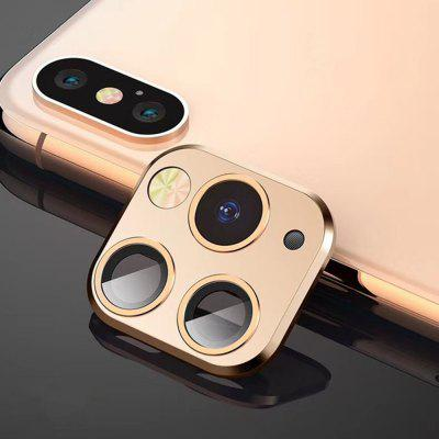 Seconden Change Camera Protector Cover Film Stick voor iPhone X / XS / XS Max