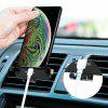 Minismile YT04 360-degree Rotary Car Mount Air Vent Phone Holder - BLACK
