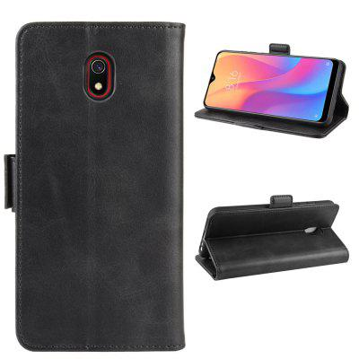 CHUMDIY PU Leather Flip Magnetic Wallet Phone Case for Xiaomi Redmi 8A